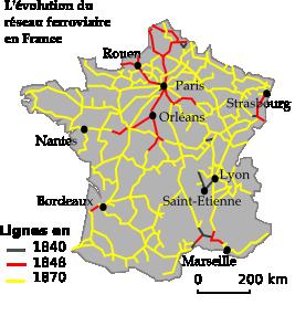 Petite histoire du chemin de fer en France